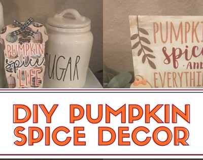Pumpkin Spice Home Decor