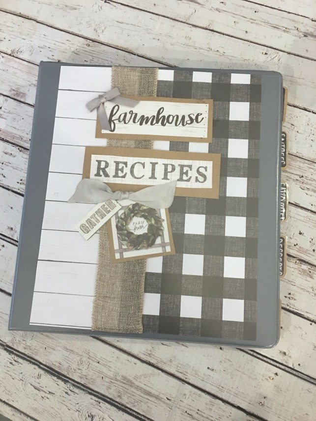 DIY Recipe Binder and Free Recipe Printable. Click over the DIY tutorial and Free Printable sheet to add to your Recipe binder.
