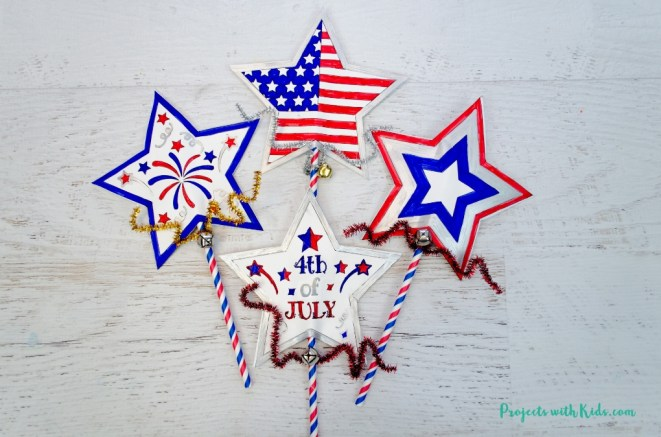 10+ Crafts and Ideas for you to create for your home. Celebrate the Summer holidays with these patriotic ideas and crafts.