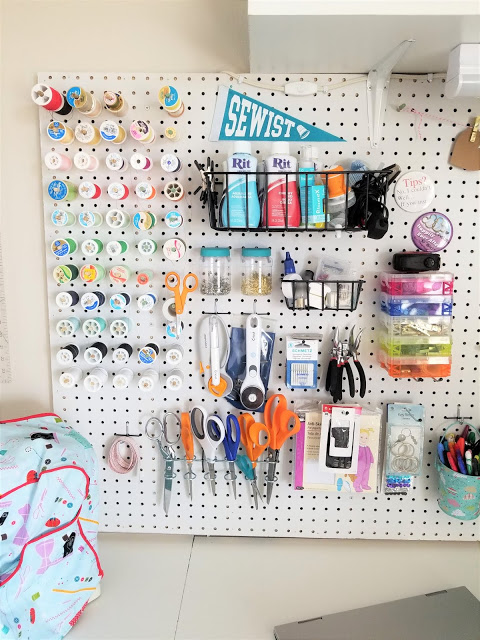 Organize you craft supplies and craft room with these simple tips and tricks. Get motivated and create all the things.