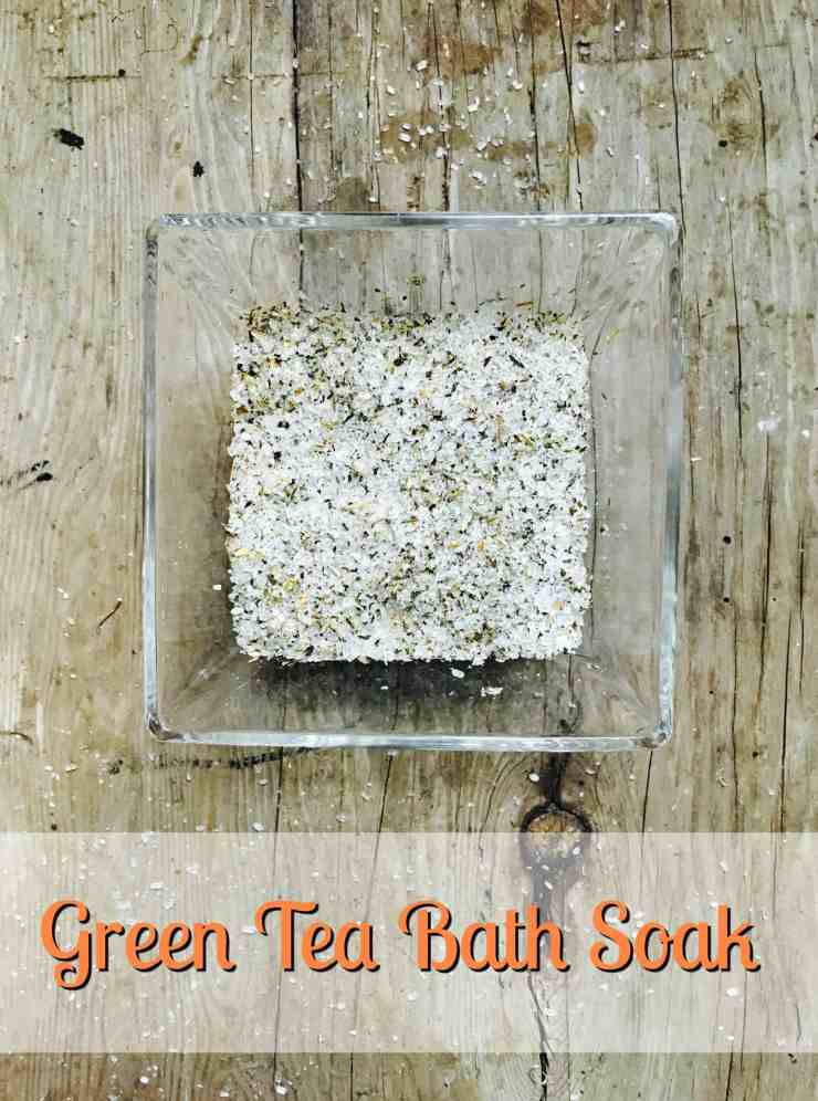 Green Tea Bath Soak