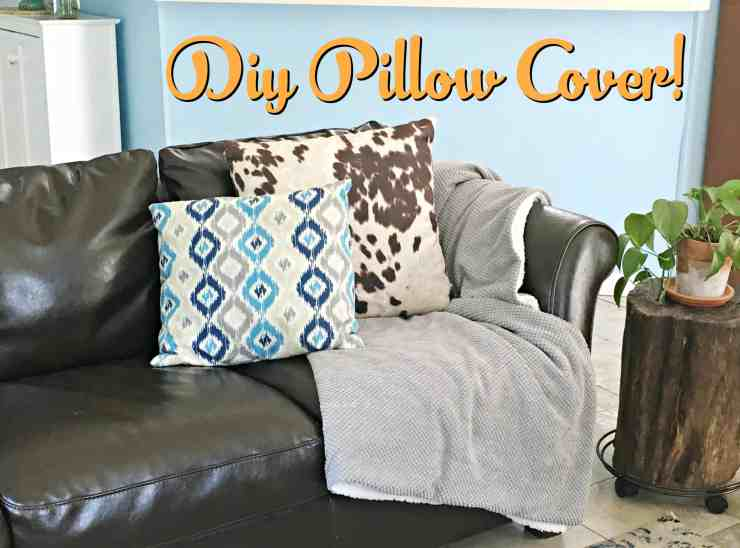 diy pillow cover 1