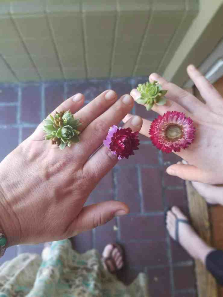 succulent ring tutorial