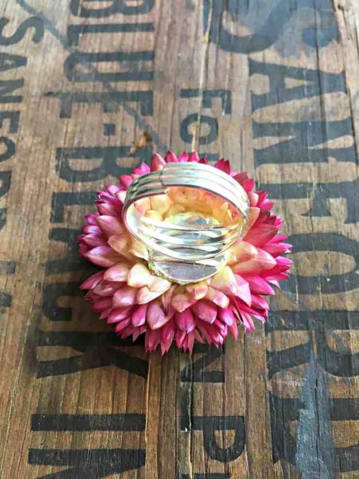 straw flower ring 2