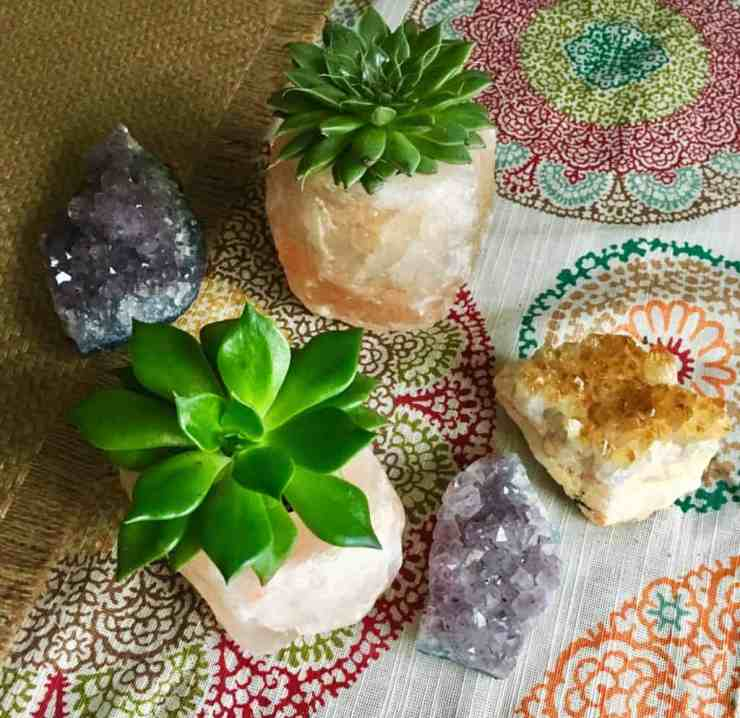 Himalayan Salt Planter