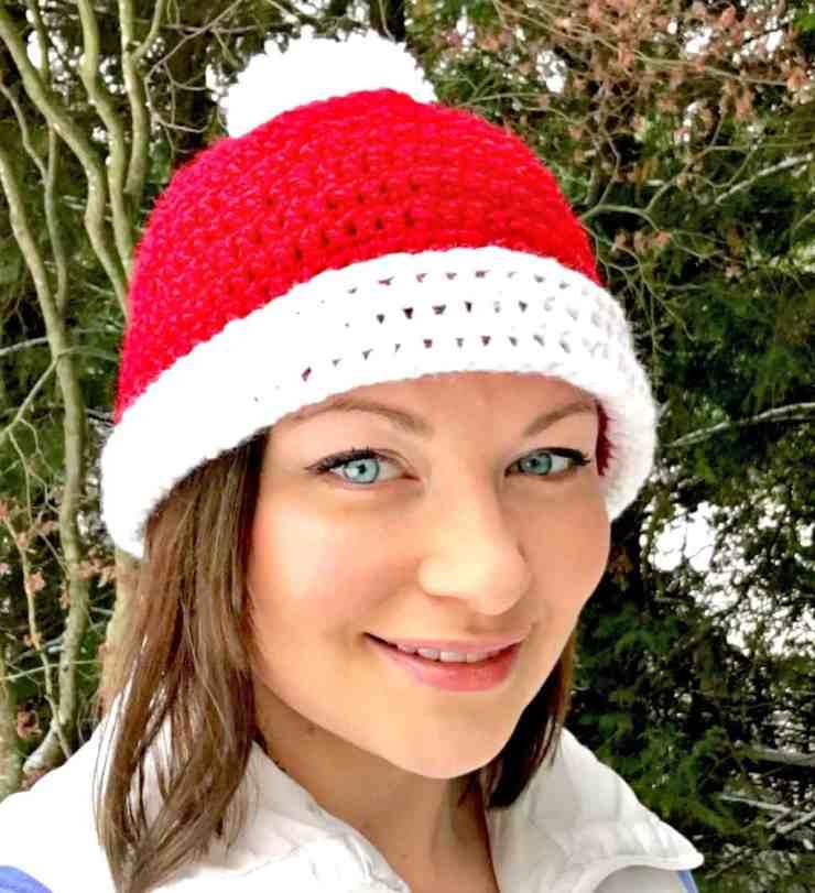 Crochet Santa Hat Tutorial