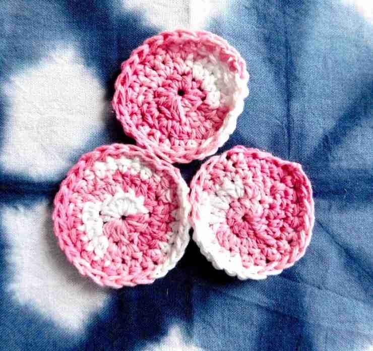 Crochet Face Scrubbie Tutorital