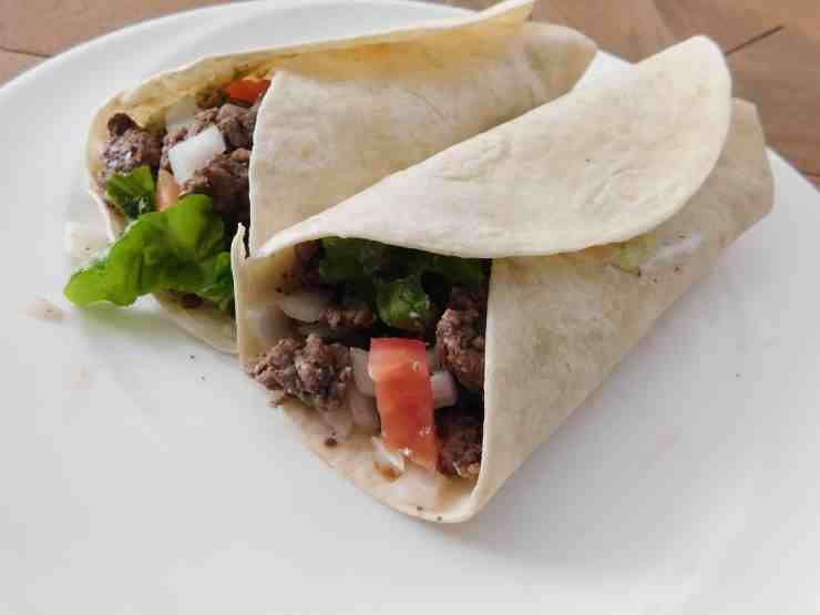 Lamb and Beef Gyro Burritos