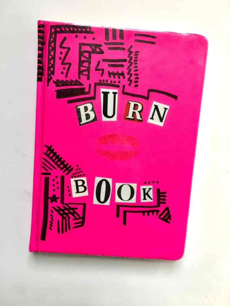 Mean Girls Burn Book Tutorial