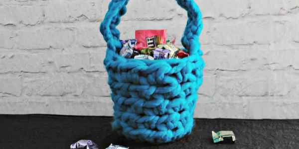 Crochet Easter Basket Tutorial