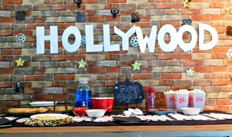 Movie Night Party Inspiration