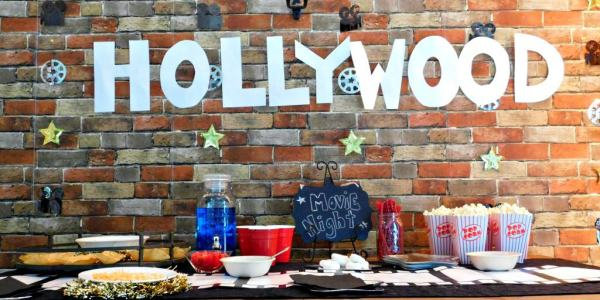 Movie Night Party Inspiration