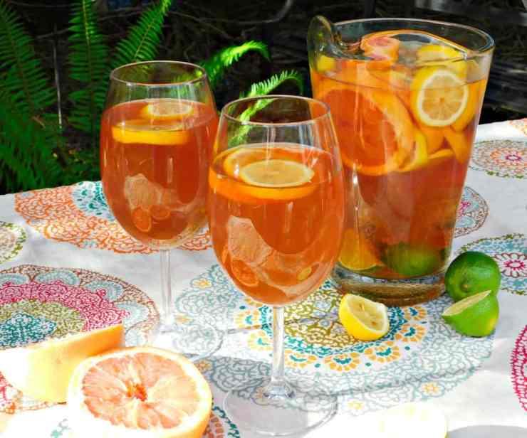 citrus beer sangria