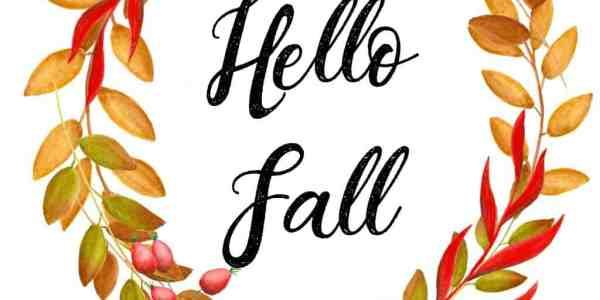 5 Free Autumn Printables