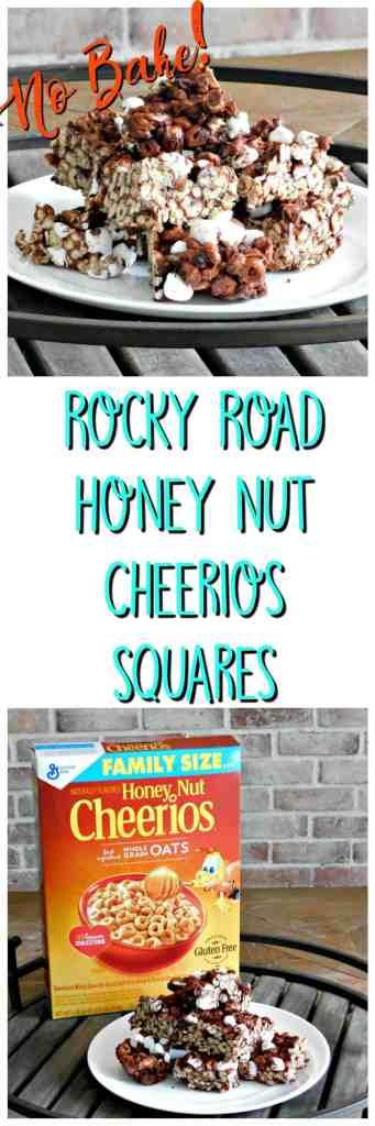 Rocky Road Honey Nut Cheerios Cereal Bars
