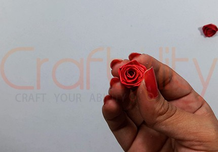 How To Make Paper Quilling Rose Card Craftylity