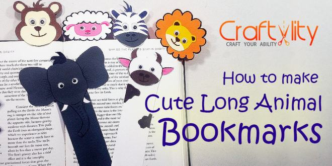 Long-Animal-Bookmark