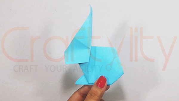 Origami Rabbit Side