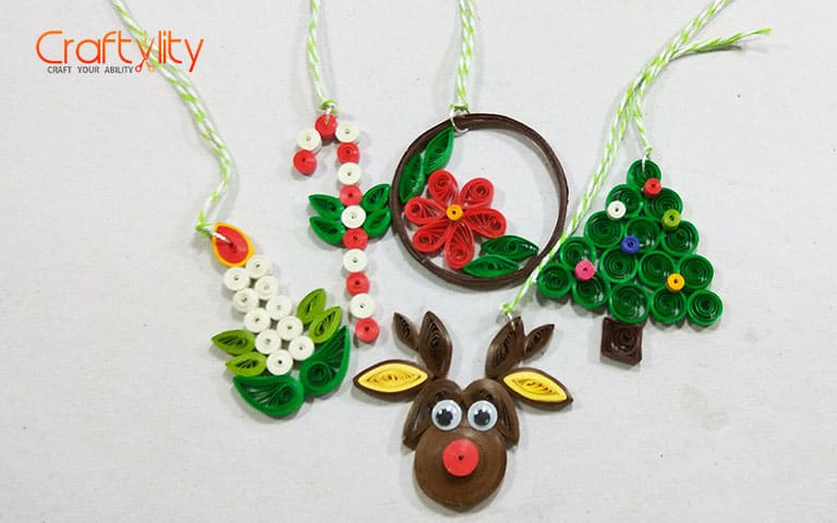 Learn How To Create Easy And Beautiful Quilling Christmas Decorations