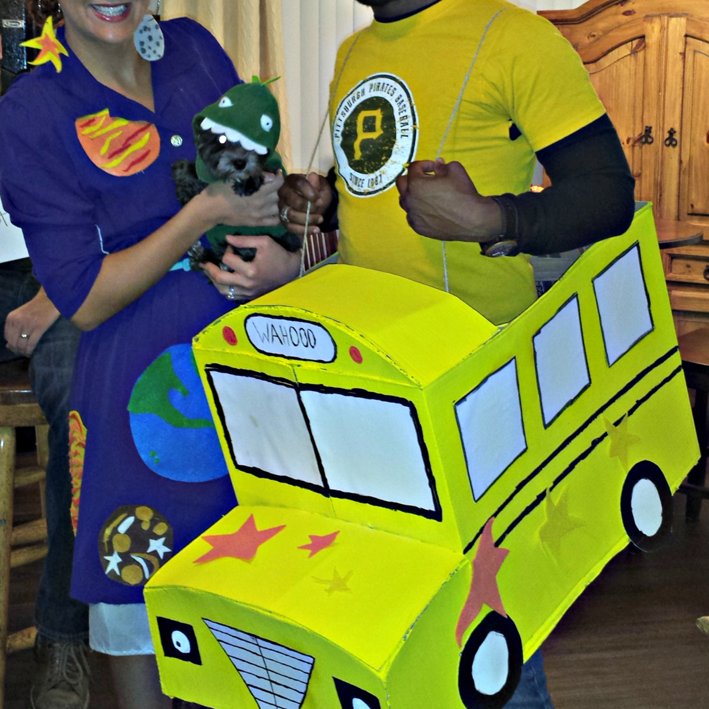 Mrs Frizzle Amp The Magic School Bus Couples Costume