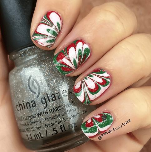 marbled-christmas-nails