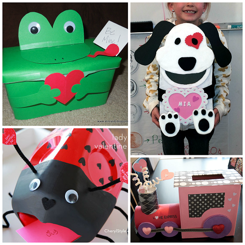 Valentine Decorated Boxes: How To Decorate A Box For Valentine Cards