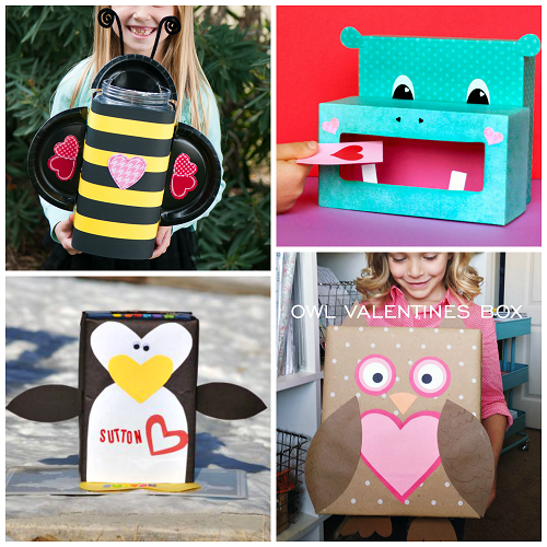 The Cutest Valentine Boxes That Kids Will Love Crafty