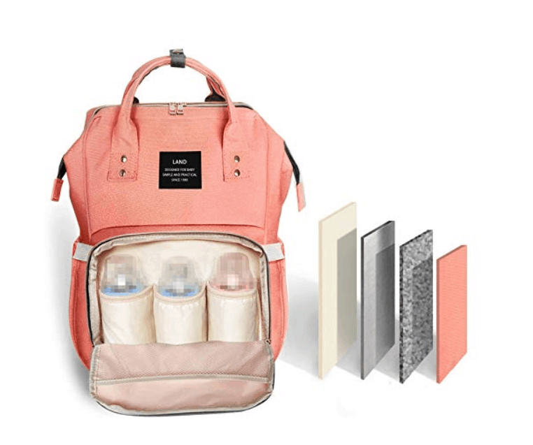 pregnancy essentials for every trimester this is great for third trimester. diaper backpack