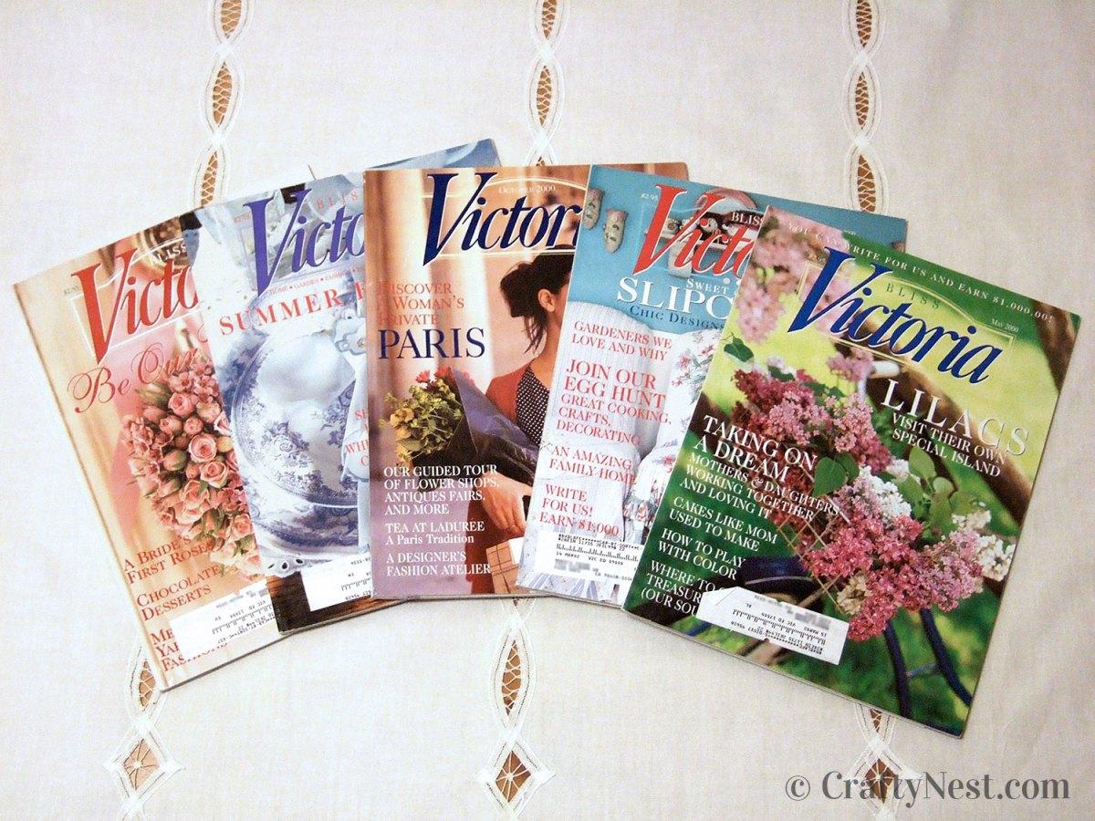 Victoria magazines, photo