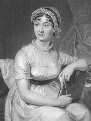 Jane Austen, drawing