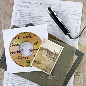Recording your family's oral history, photo