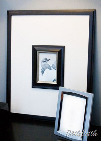 Carrie's frame within a frame, photo