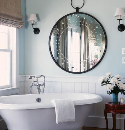 SF Girl By Bay bathroom mirror, photo