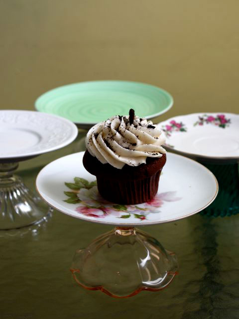 Carrie's cupcake stands, photo