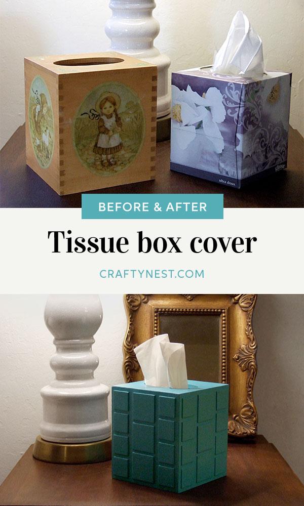 Crafty Nest mod tissue box cover Pinterest photo