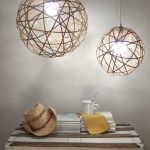 Bamboo Orb Pendant Lights Crafty Nest