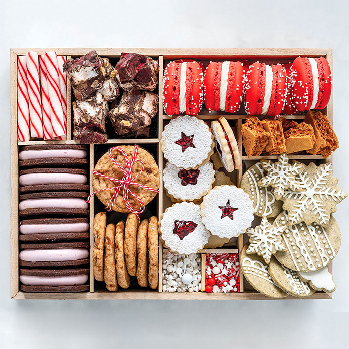 Christmas cookie box, photo