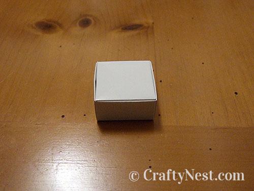 Finished box, photo