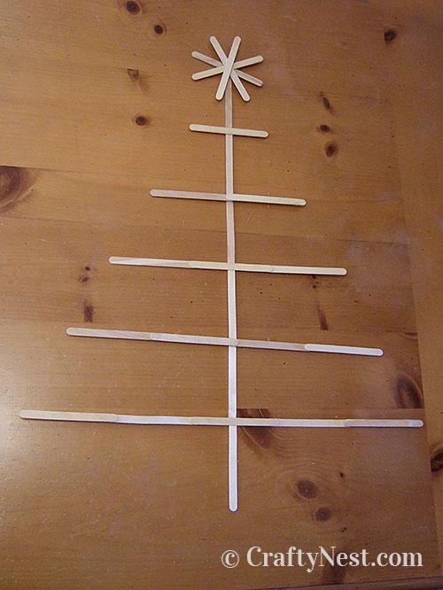 Glue the tree together, photo