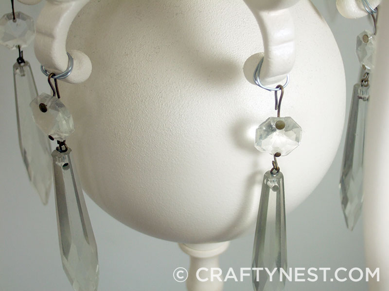 Wrap crystals around the loops, photo
