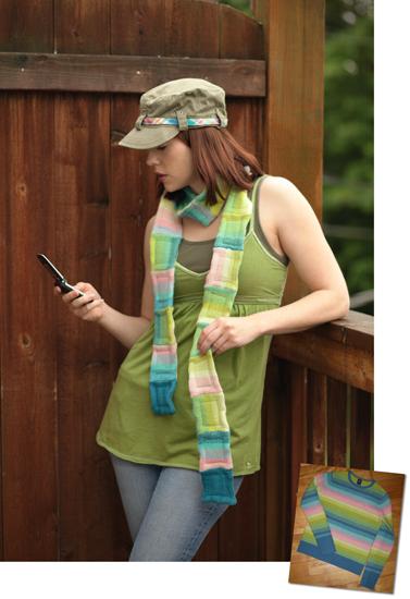 Sweater scarf, photo
