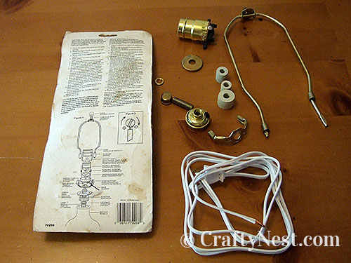Lamp parts kit, photo