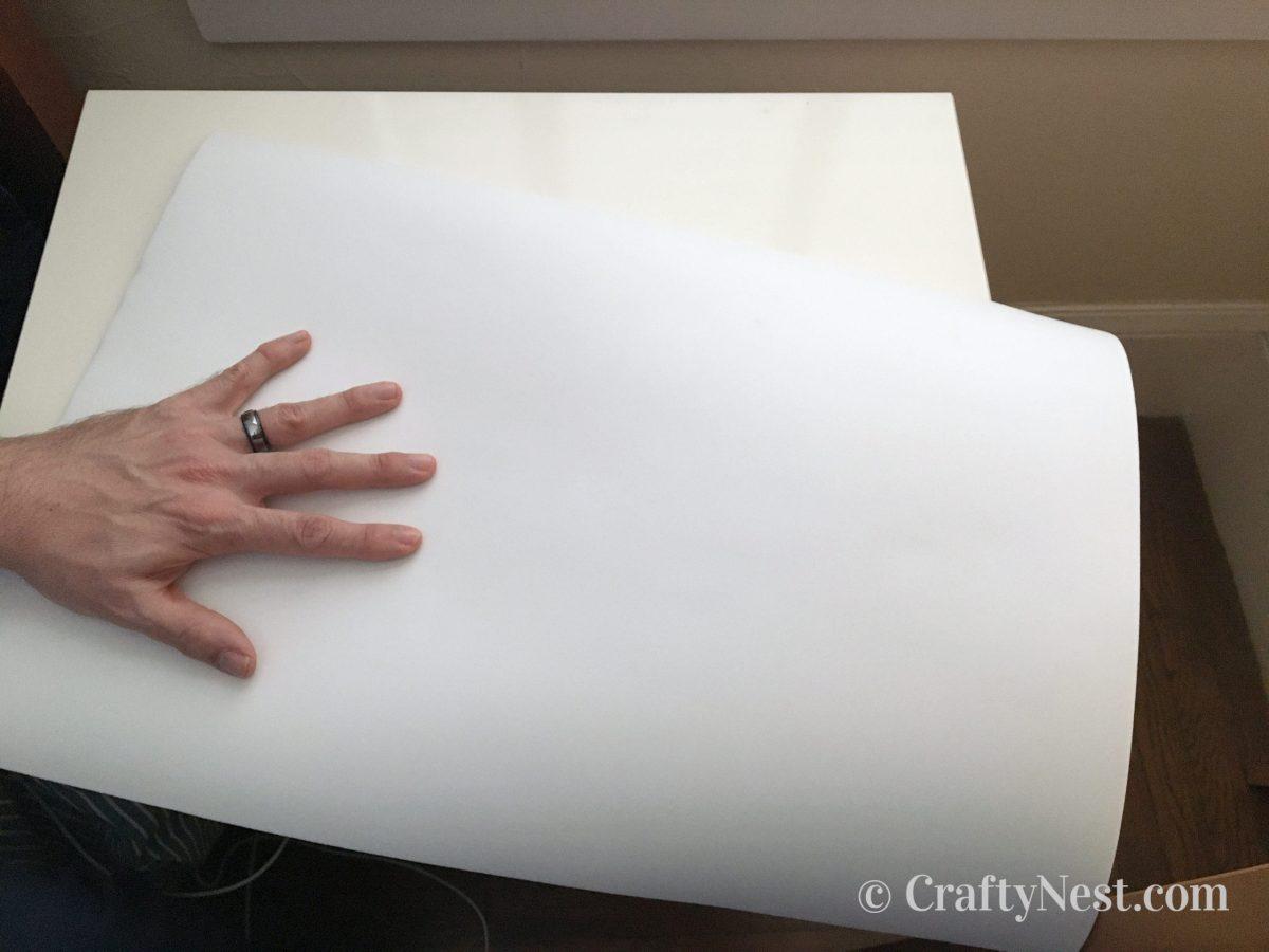 Foam nighstand mat, photo