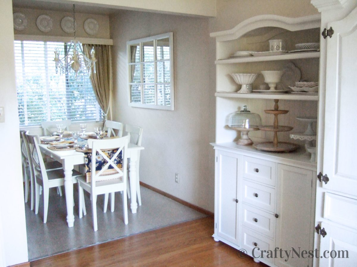 Dining room makeover, after photo