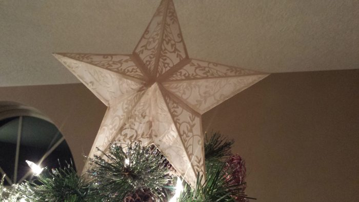 Fancy Paper Christmas Tree star - SVG Download