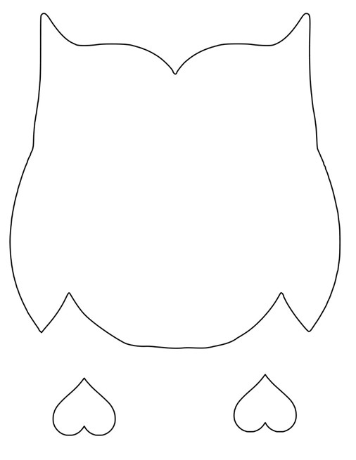 Valentines day owl free cut files