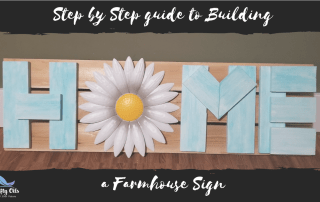 Farmhouse Home Pallet Sign Tutorial
