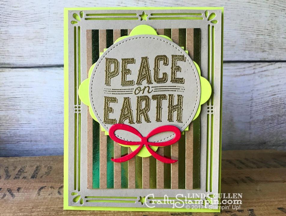 Carols Of Christmas Card Crafty Stampin Linda Cullen