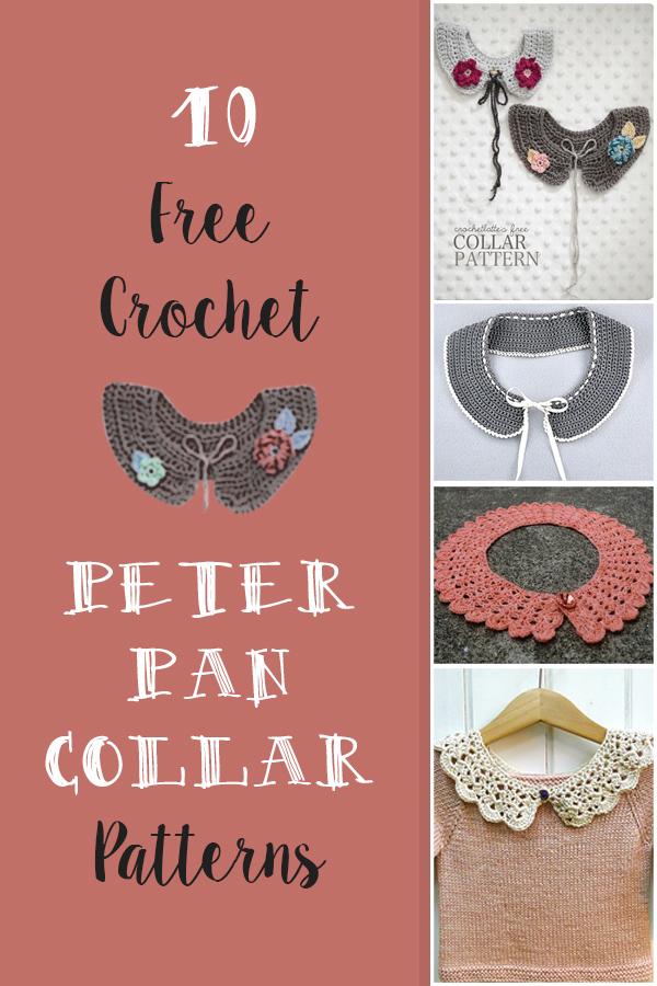 crochet peter pan collar pattern. Free Crochet Peter Pan Collar Pattern. List of free crochet peter pan collar patterns, and other detachable collars alike.