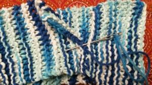 Knitted headband - beginners knitting pattern